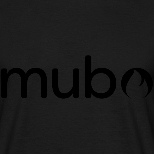 mubo Logo Word Black