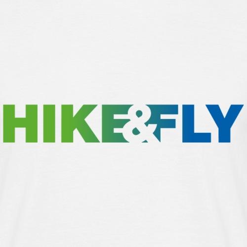 Hike & Fly Paragliding - Männer T-Shirt