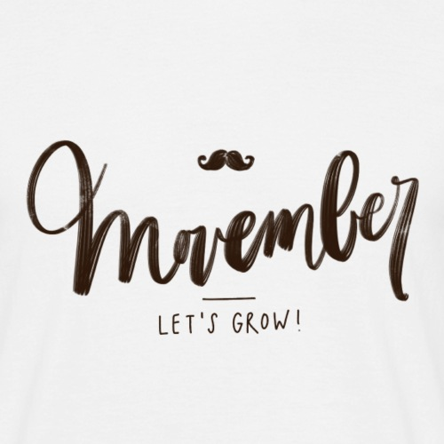 November is for growing a moustache