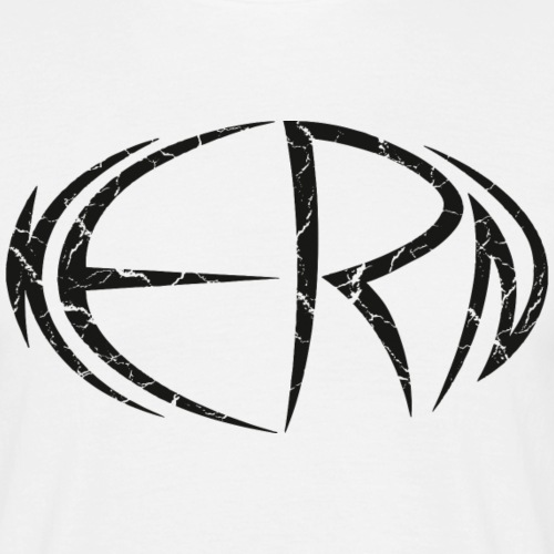 Kern Logo black - Männer T-Shirt