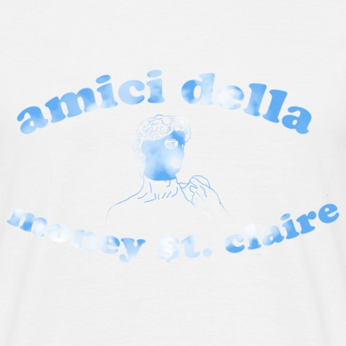 amici della money st. claire david - Mannen T-shirt