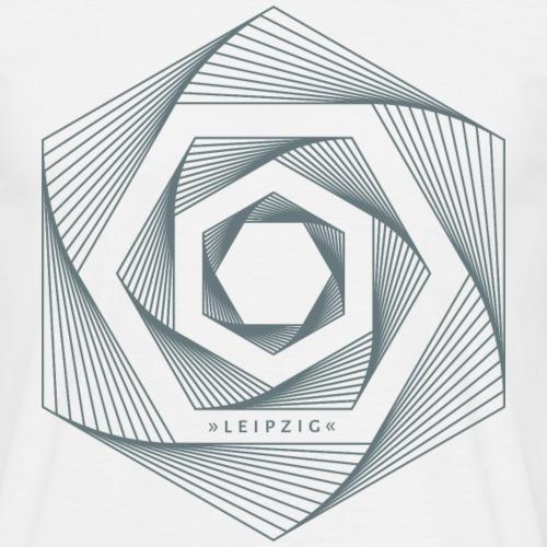 Leipzig — Hexagon - Männer T-Shirt