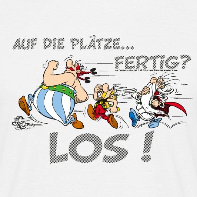 Asterix Obelix Auf die Plätze... Fertig? Los!