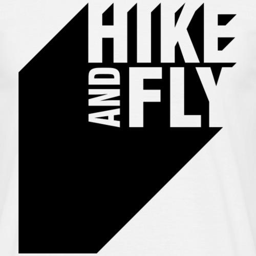 Hike and Fly Paragliding 3D - Männer T-Shirt