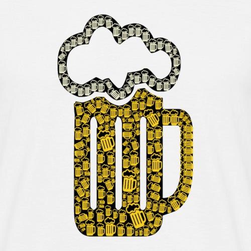 Bière à la bière - T-shirt Homme