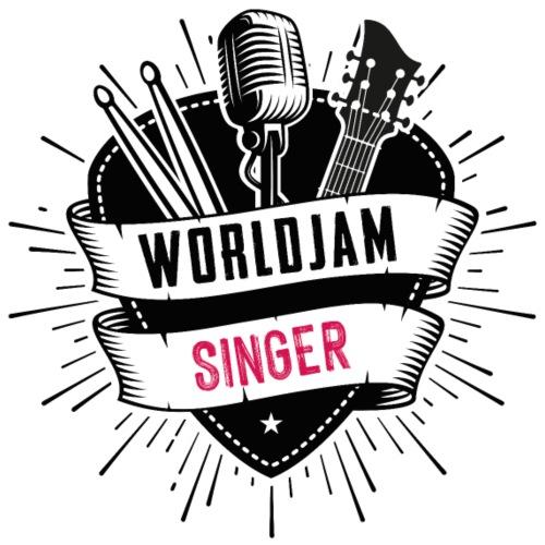 WorldJam Singer - Men's T-Shirt