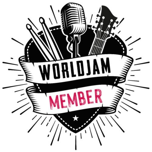 WorldJam Member - Men's T-Shirt