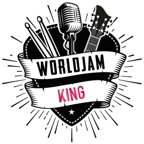 WorldJam King - Men's T-Shirt