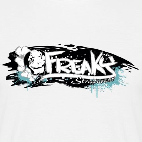 Freaky Streetwear Logo brush - Männer T-Shirt