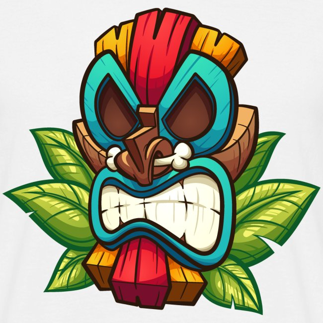 Tiki Mask Bone