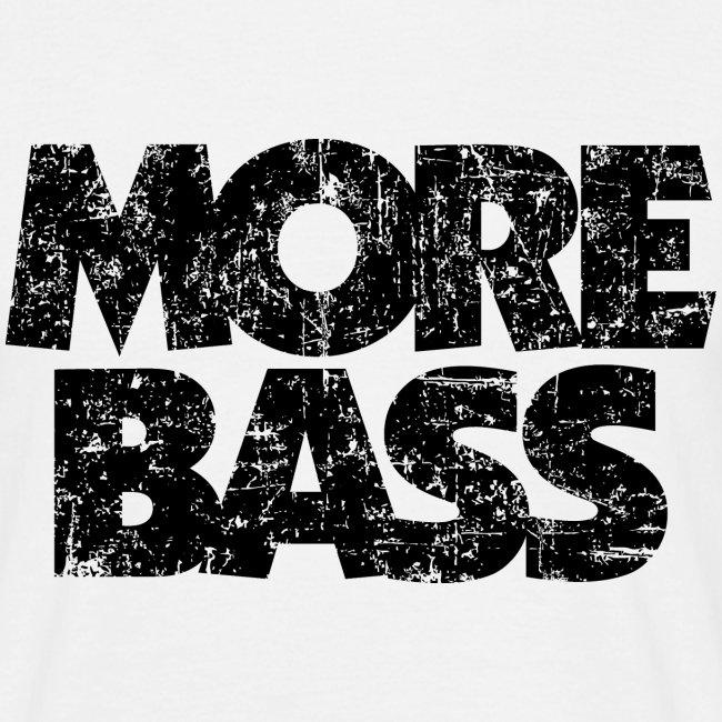 More Bass (Vintage/Schwarz) Bassist Bassisten