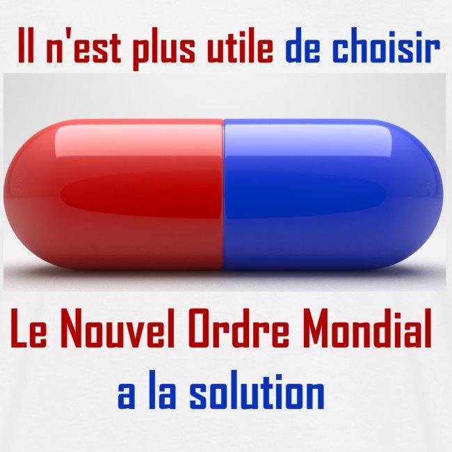 Une seule pilule désormais