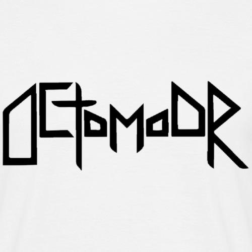 Octomoor Black Logo - Männer T-Shirt