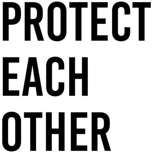 protect each other - Corona Mask - Männer T-Shirt