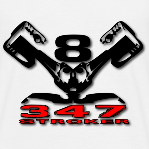 347s v8 - Herre-T-shirt
