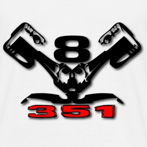 351 v8 - Herre-T-shirt