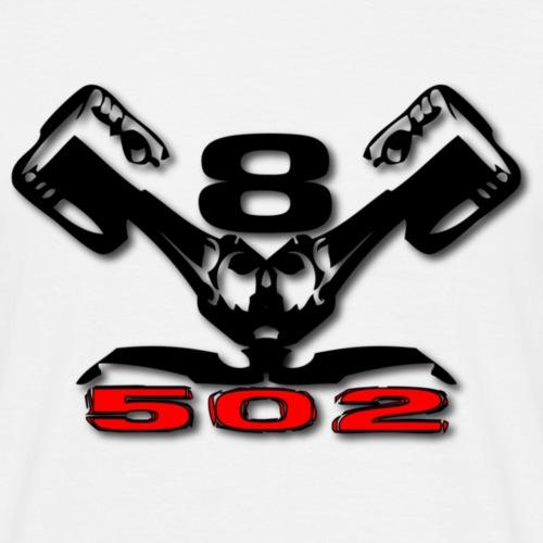 502 v8 - Herre-T-shirt
