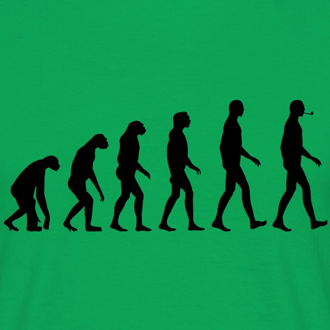 The Evolution of pipe Man