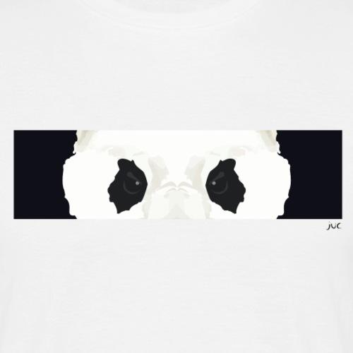 Yeux de panda - T-shirt Homme
