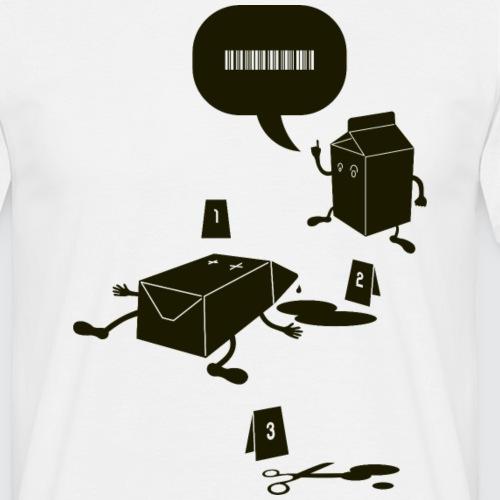 Milk_negative - Maglietta da uomo