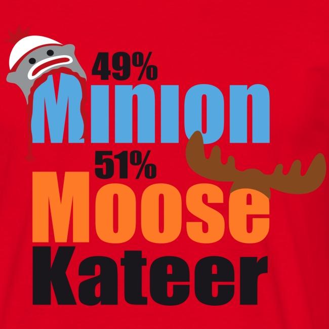 49% Minion 51% MooseKateer