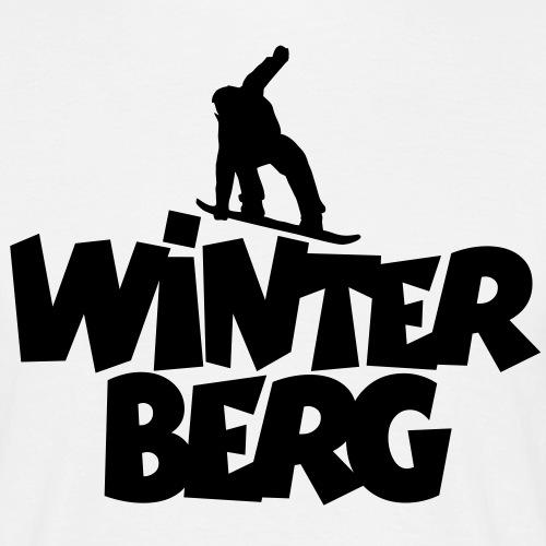 Winterberg Snowboard Snowboarding - Männer T-Shirt