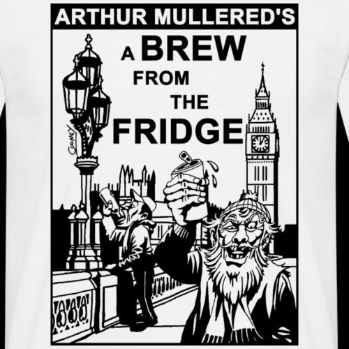 A Brew from the Fridge v2 - Men's T-Shirt
