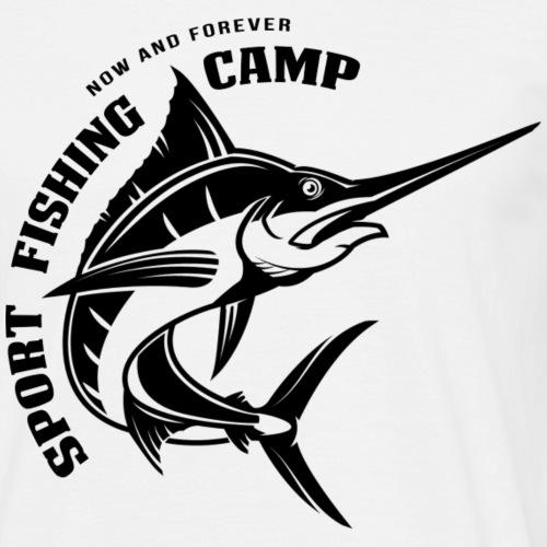 Fishing Camp - Männer T-Shirt
