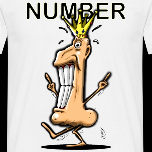 Number One! - Men's T-Shirt