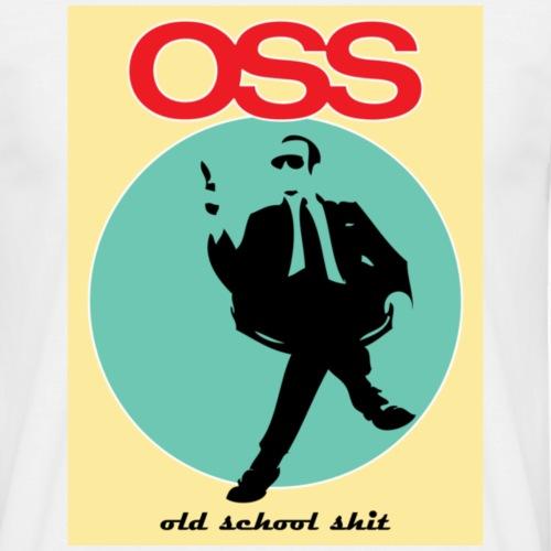 Old school shit - Koszulka męska