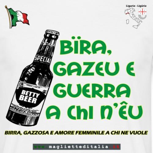 liguria bira gazeu m - Maglietta da uomo