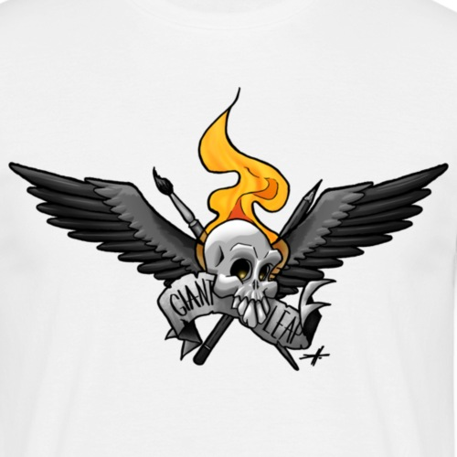 20110628 schaedelfinal - Männer T-Shirt