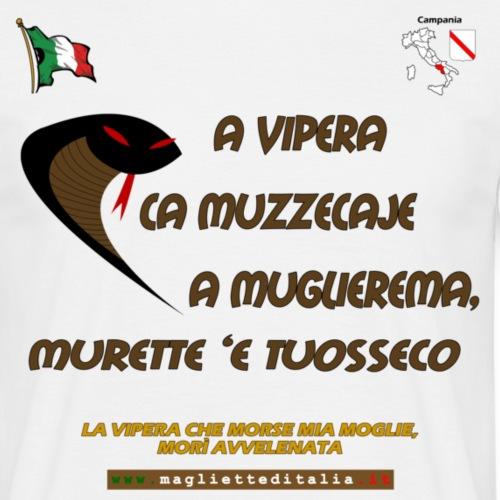 campania vipera m - Maglietta da uomo