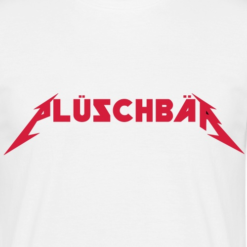 plueschbaer - Männer T-Shirt