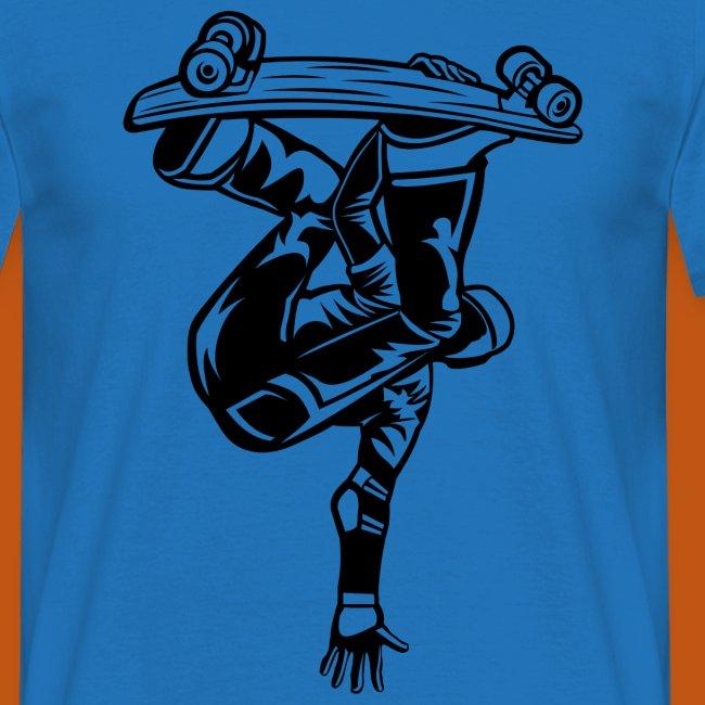 Skater / Skateboarder 03_schwarz