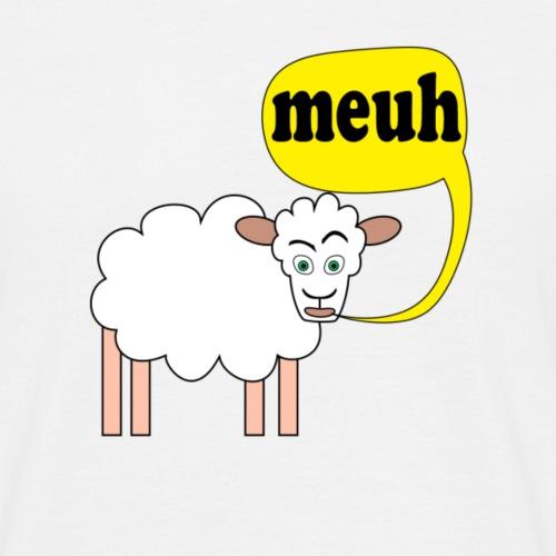 Mouton meuh ! - T-shirt Homme