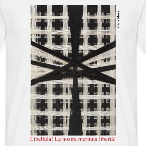 CARLA MURA X iorestoacasaArtistiUniti - Maglietta da uomo