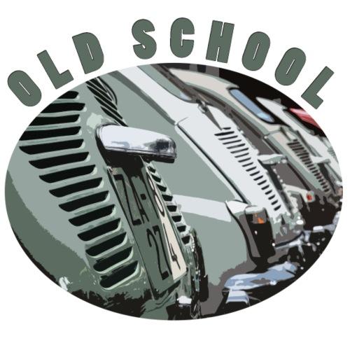 vecchia scuola - Maglietta da uomo
