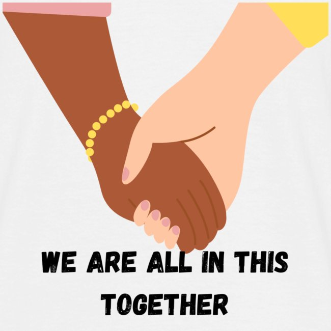 We are all in this together Logo