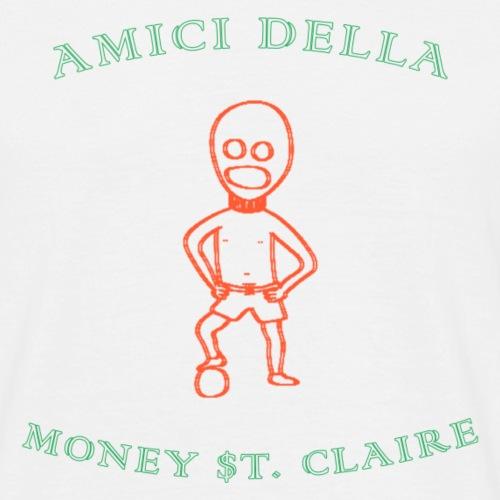 amici della money $t. claire calcio - Mannen T-shirt