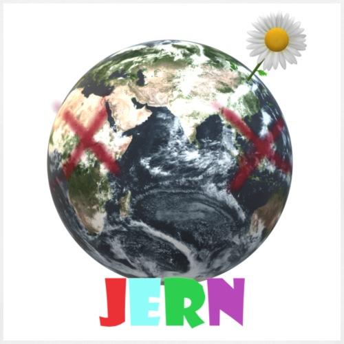 JERN Flower earth logo