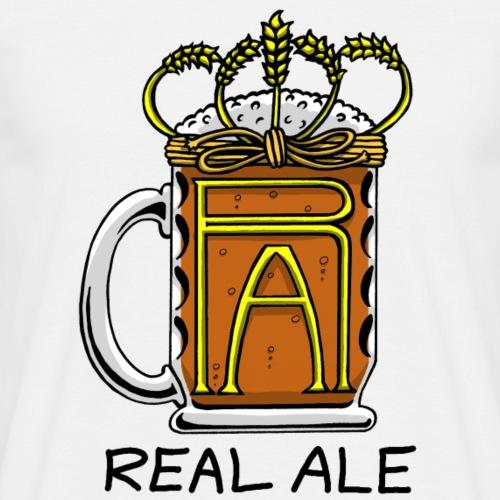 Real Ale - Men's T-Shirt