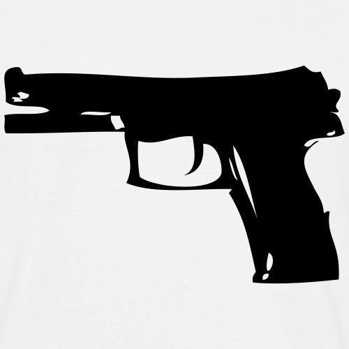 pistolet automatique - T-shirt Homme