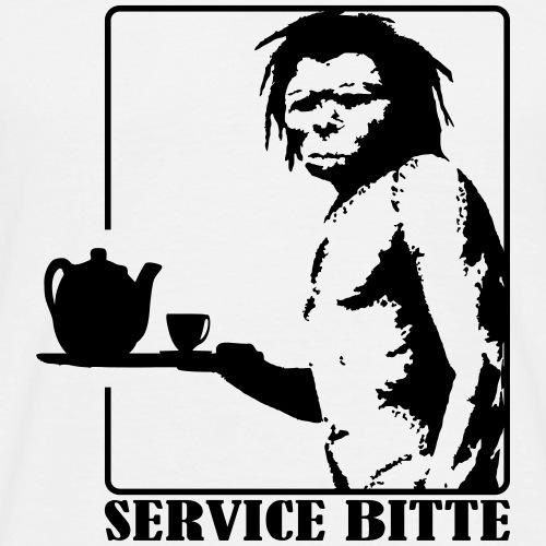Service bitte - Männer T-Shirt