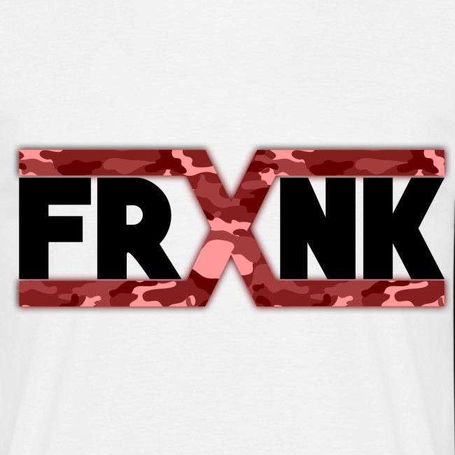 Red Camo 'FRXNK' Logo