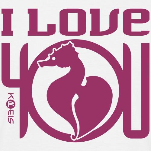I Love You, HIPCO _ I _ byTed - Maglietta da uomo