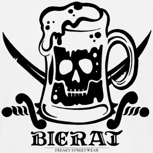 Bierat - black - Männer T-Shirt