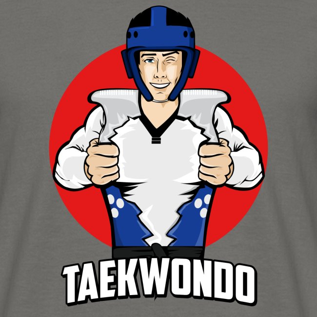 Nouveau Design Taekwondo Dessin Animé Cartoon