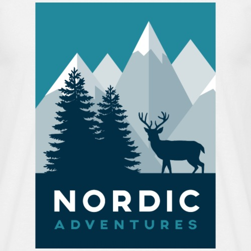 Nordic Adventures - Männer T-Shirt
