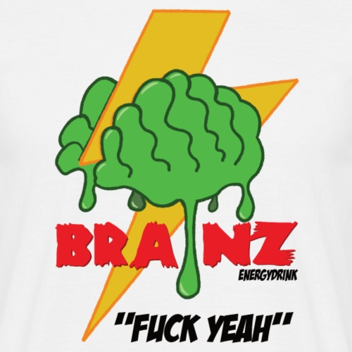 Brainz - Herre-T-shirt